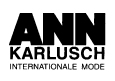 Ann Karlusch - Internationale Mode